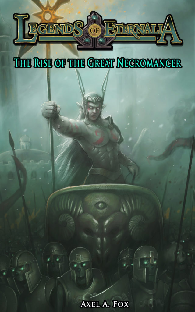 The Rise of the Great Necromancer portada v2